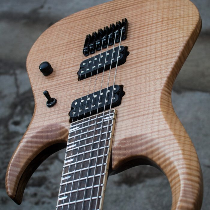 One-Piece Flame Maple Cimmerian VII